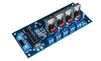 Picture of 4CH I2C AC Dimmer Light Bulb SSR Smart Home Arduino Raspberry 110V 220V