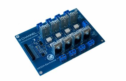 Picture of 8 Channel Ac Programmable Light SSR Dimmer Module Controller Board Arduino Raspberry Compatible 50/60hz