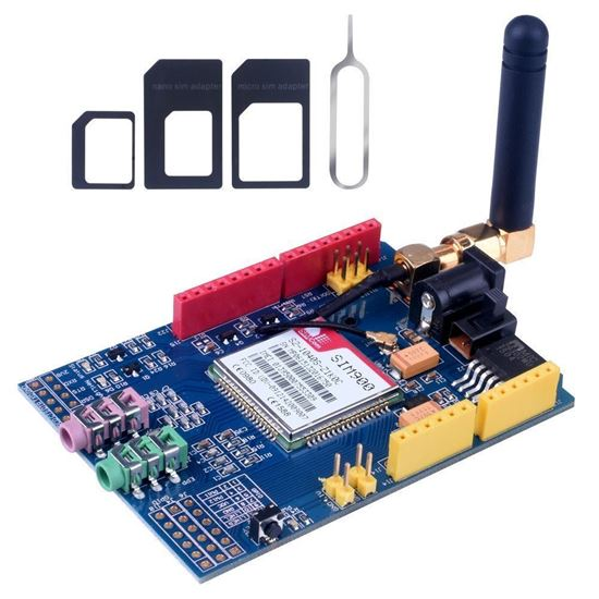 Picture of IM900 GPRS/GSM Shield Development Board Quad-Band Module For Arduino Compatible High Quality
