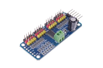 Picture of 16 Channel PWM/Servo Driver IIC interface-PCA9685 for arduino or Raspberry pi shield module servo shield