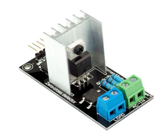 Picture of Ac Programmable Light Dimmer Module Controller Board For Arduino Raspberry Compatible 50/60hz With HeatSink 3.3V/5V Logic