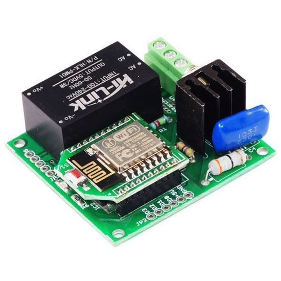 Picture of Programmable Wifi ESP8266 AC Dimmer 110V-220V AC For Android and Android Developer SDK Available.