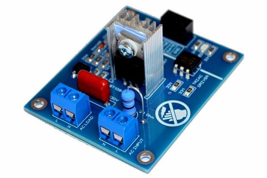 Picture of Ac Programmable Compatible AC dimmable LEDs, AC LED dimmer Light Dimmer Module Controller Board Arduino Raspberry Compatible 50/60hz With HeatSink  And Snubber
