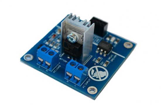 Picture of Ac Programmable Light Dimmer Module Controller Board Arduino Raspberry Compatible 50/60hz With HeatSink SSR