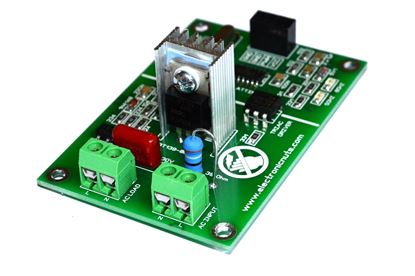 Picture of PWM AC Light Dimmer Module 50Hz 60Hz For Arduino Raspberry LED IOT AC Phase Dimmer Controller