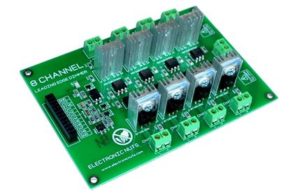 Picture of SSR 8 Channel MicroController/MCU Ac Programmable Light Dimmer Module Controller Board for Arduino Raspberry Compatible 50/60hz