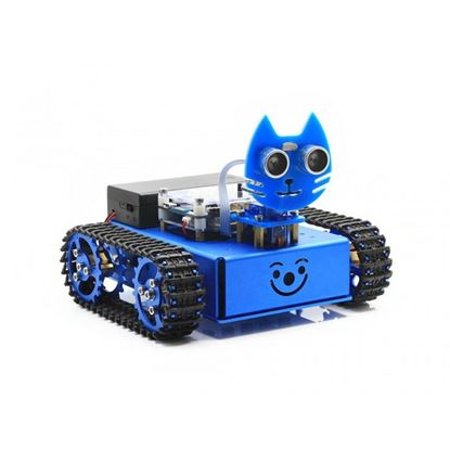 Picture of KitiBot, Starter Robot, Graphical Programming, Tracked Version  for STEAM education, comes with graphical programming software for KIDS