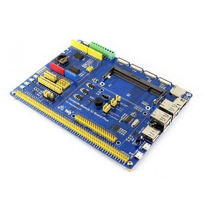 Picture of Compute Module IO Board Plus, for Raspberry Pi CM3, CM3L
