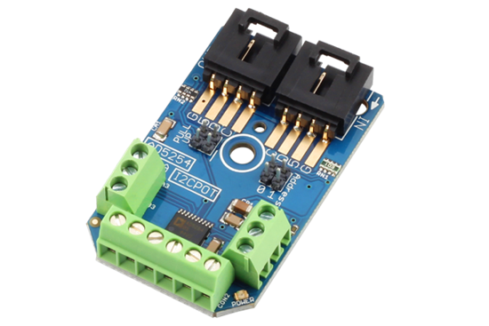 Picture of Analog Devices AD5254 Digital Potentiometer 4-Channel 256-Position I2C Mini Module 100K