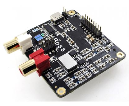 Picture of Allo BOSS I2S DAC V 1.2 ULTRA low phase noise Master DAC compatible only with RPI 2 and 3