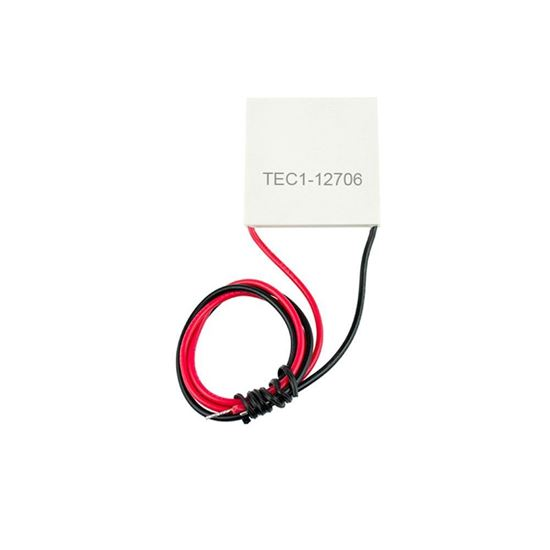 Picture of TEC1-12706 40X40MM 12V 60W Heatsink Thermoelectric Cooler Cooling Peltier Plate Module